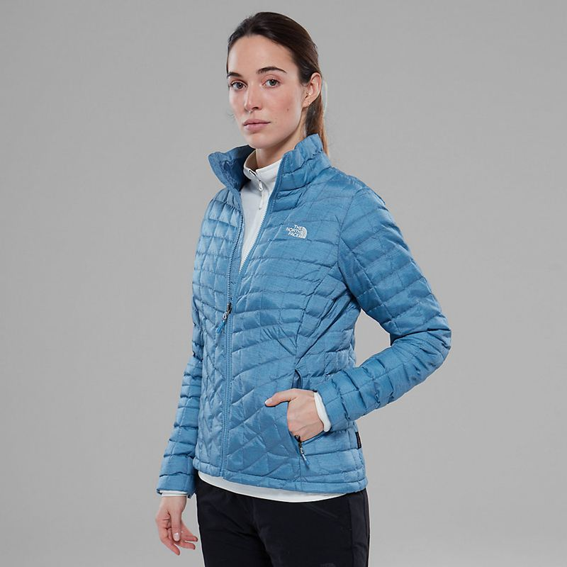 Giacche Isolanti The North Face Thermoball Zip-In 1538PIZ Donna - Blu